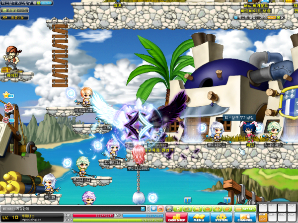 Interesting! A new Job in MapleStory Korea Luminous-job-advancement