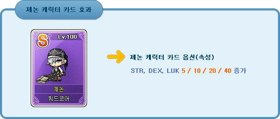 Xenon Character Card Effects