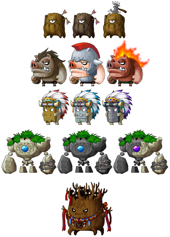Twilight of Perion Monsters