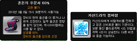 Chaos Scroll and Cassandra's Spring Breeze