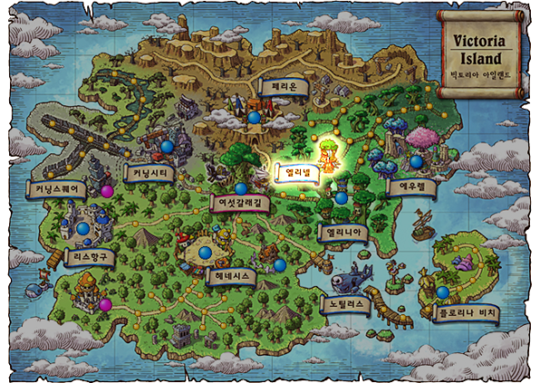 Victoria Island Map