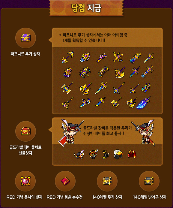 July 20 Hot Time (Lucky Items)