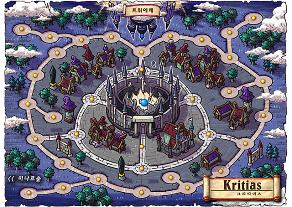 Kritias Map