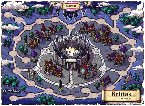 Kritias World Map
