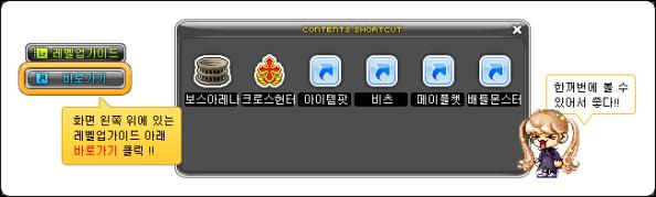 Contents Shortcut