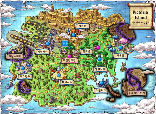 Restricted Victoria Island World Map