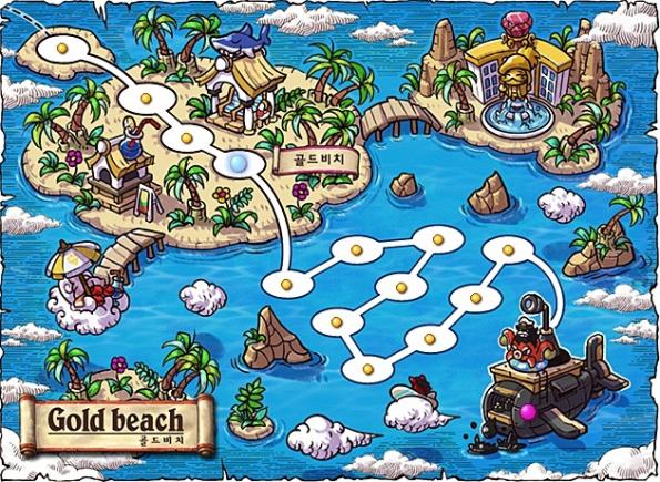 Gold Beach Map