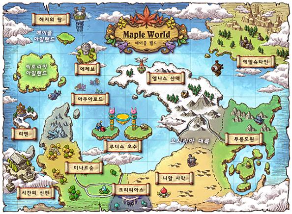 Maple World Map