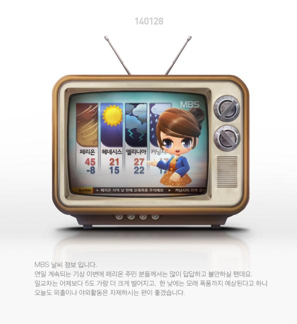 MBS Weather Broadcast