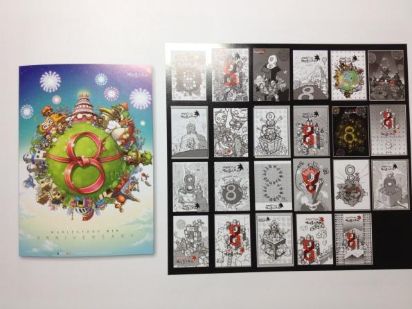 8th Anniversary Promotion Illustrations