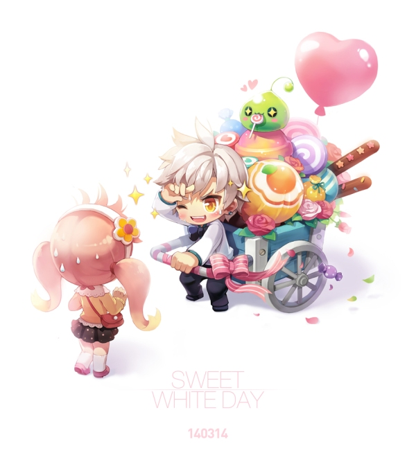 Sweet White Day
