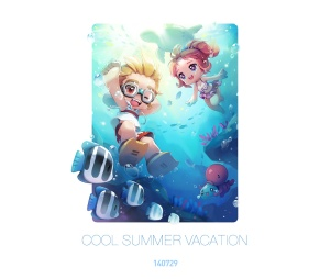 Cool Summer Vacation
