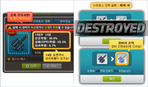 Enhancement Destruction
