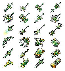 Zakum's Poisonic Weapons