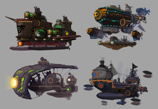 Orca & Suu Ships