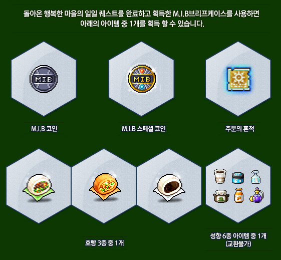 MIB Briefcase Rewards