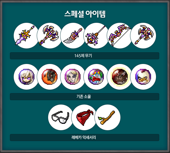 Pandora's Box Special Items