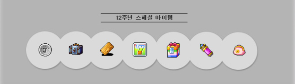 12th Anniversary Special Items