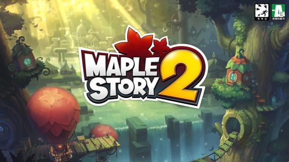 MapleStory 2 Log-in Screen