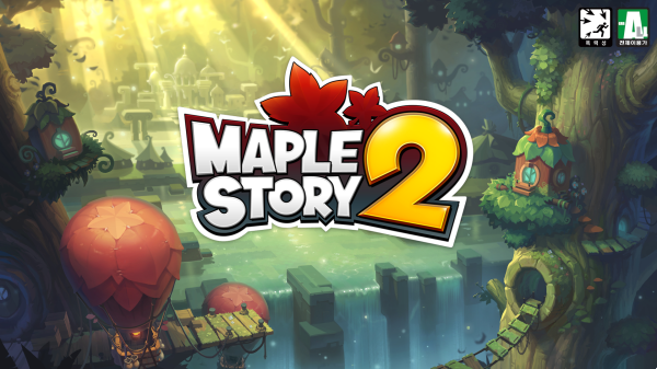 MapleStory 2 Log-in Screen