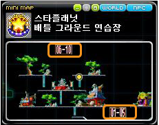 Recommended Levels Minimap