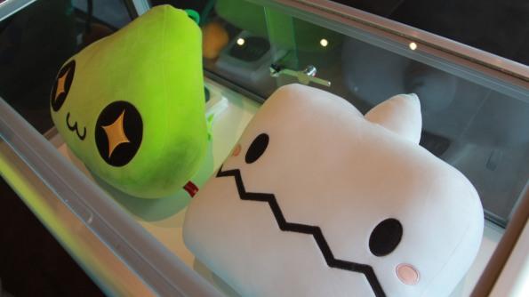 Slime and Yeti Cushions