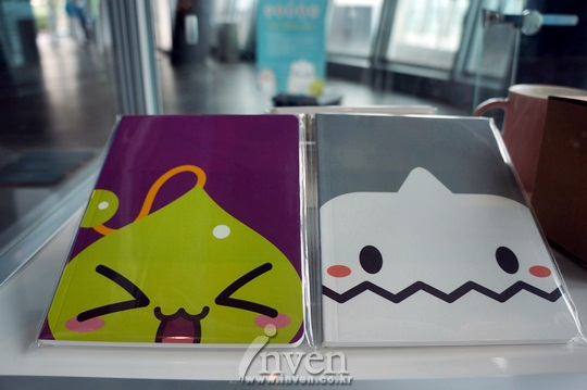Slime and Yeti Notebook