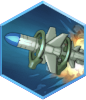 Booster Missile