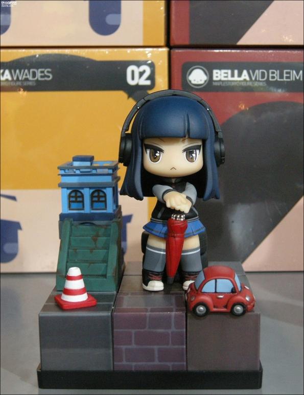 Mika (BLUE ver.) Figure