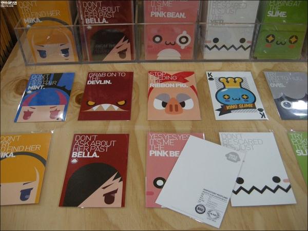 Postcards (Back)