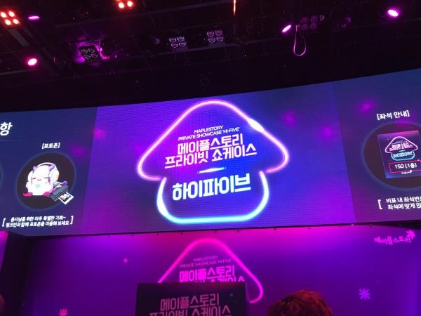 Showcase Screen