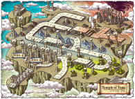 Temple of Time Map