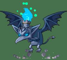 Blue-Eyed Gargoyle