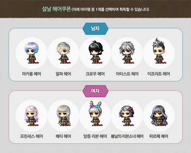 Maplestory hair coupon reboot