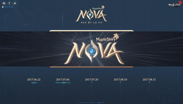 MapleStory NOVA Schedule