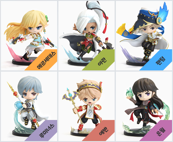 Maple Heroes Figures