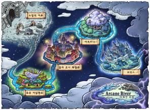 Arcane River World Map