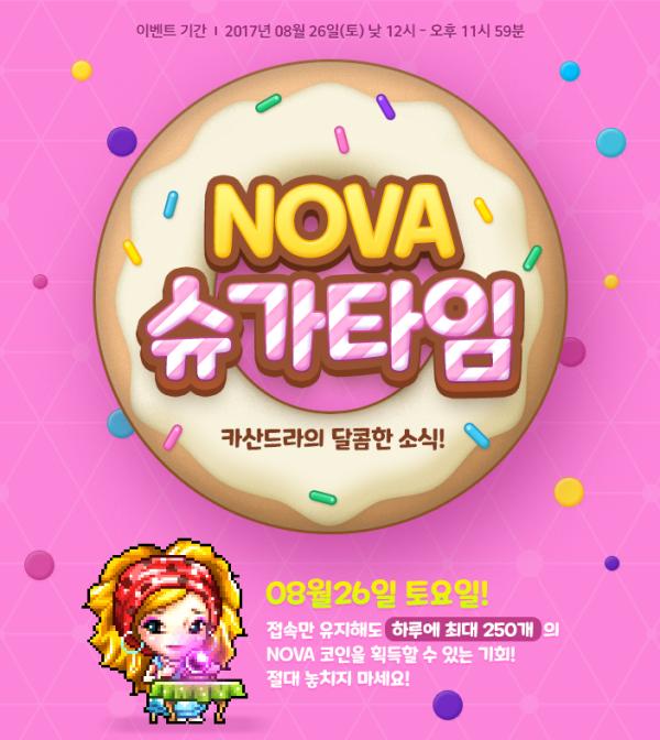 Nova Sugar Time