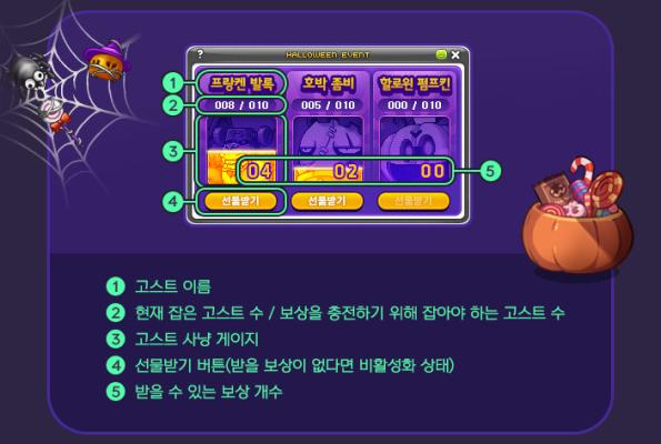 Ghost Collectors UI