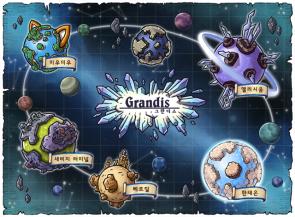 Grandis World Map