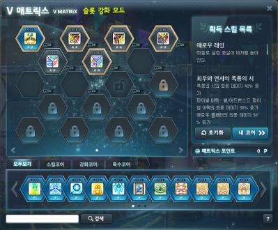 V Matrix Slot Enhancement Mode