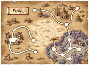 Verdel World Map