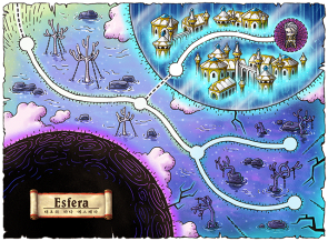 Esfera World Map
