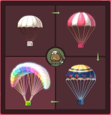 Parachute Upgrades