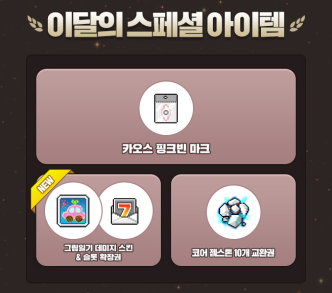 Gold Apple Monthly Special Items