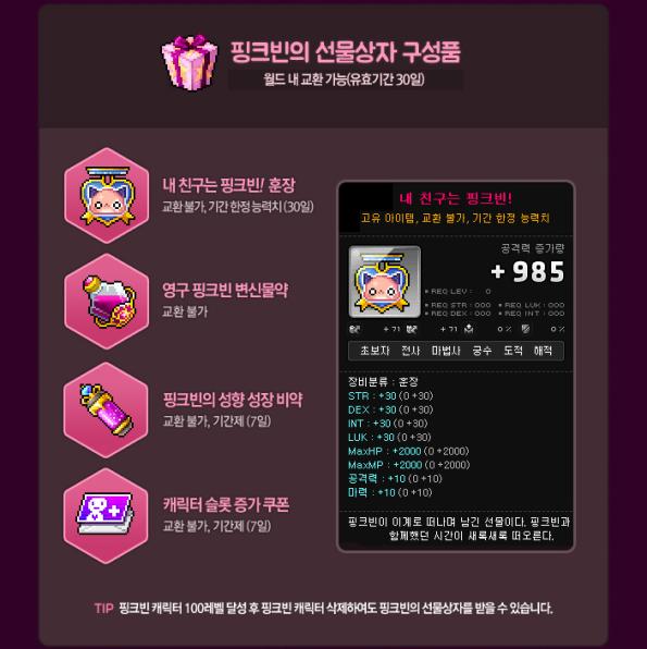 Pink Bean's Giftbox