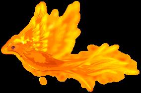 Flame Bird Riding