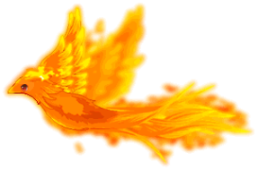 Flame Bird Riding