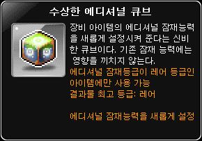 strange additional cube