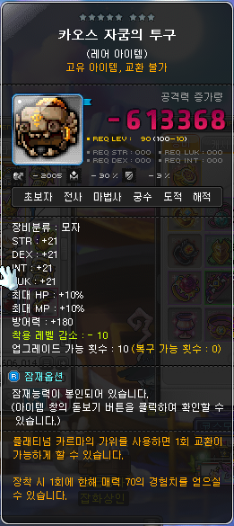 Level Requirement Flame